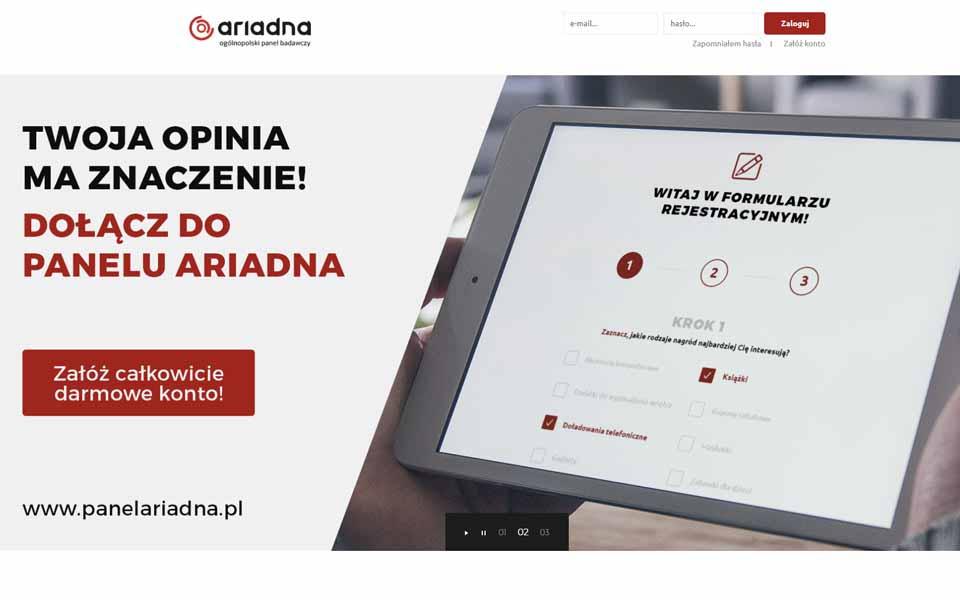Płatne Ankiety - Panel Ariadna