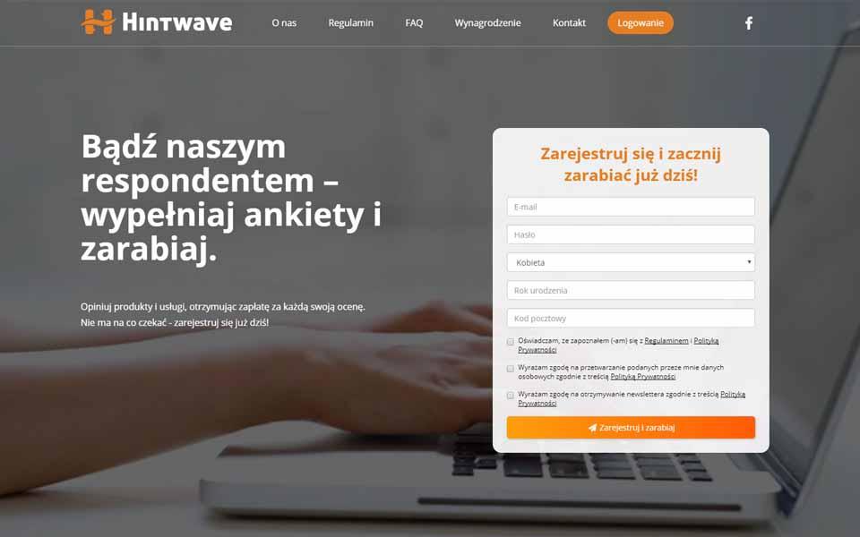 Płatne Ankiety - Hintwave