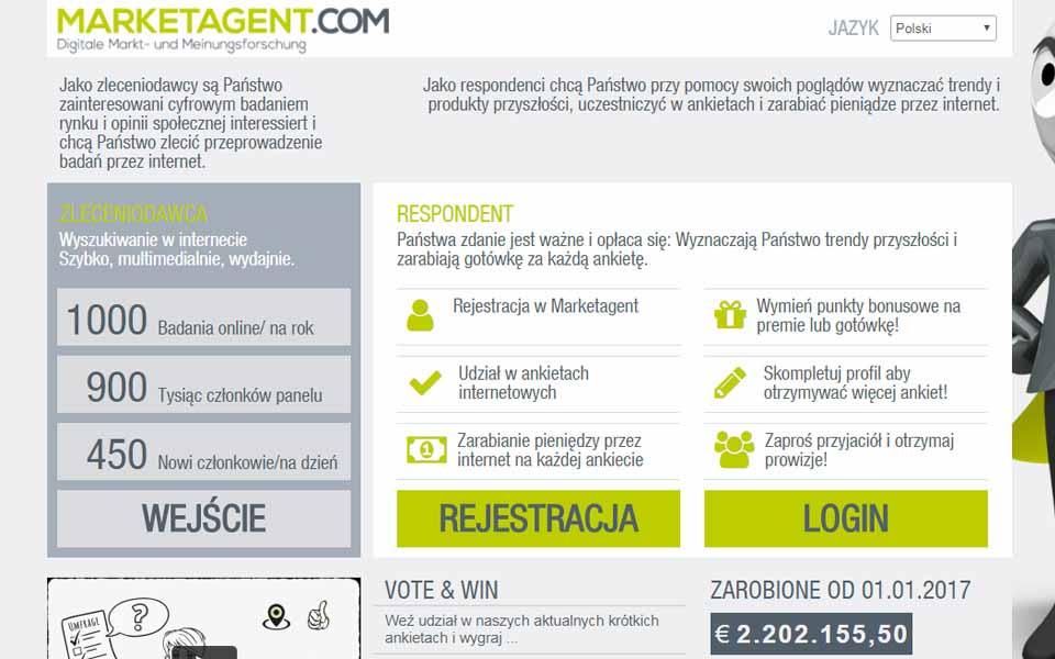 Płatne Ankiety - Market Agent