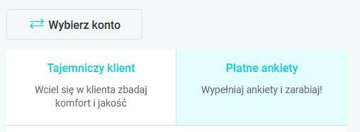 Panel badanie opinii pl - Wybierz konto