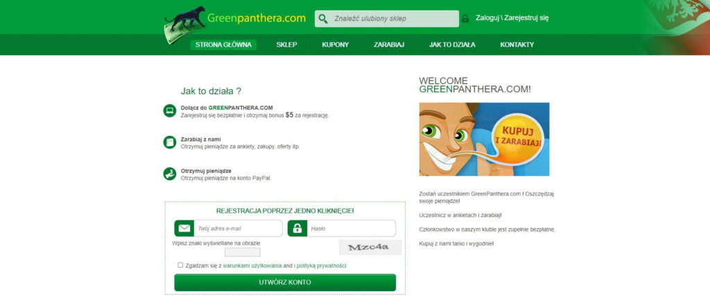 Najlepiej Platne ankiety - GreenPanthera
