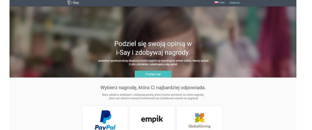 Platne ankiety - IPSOS I-Say