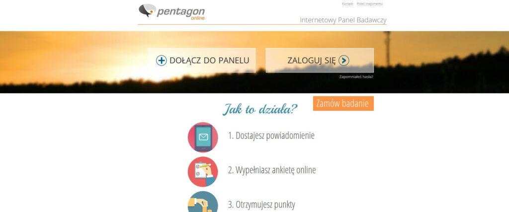 Płatne ankiety - Pentagon Online