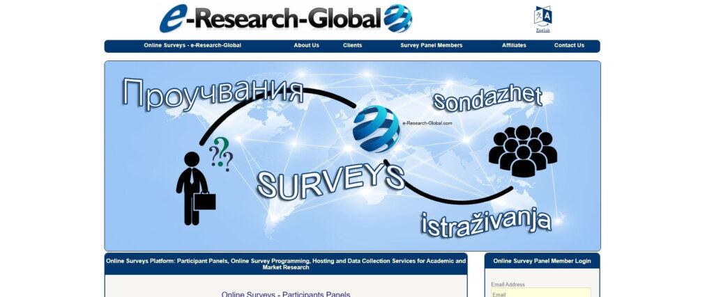 Płatne ankiety - eResearchGlobal